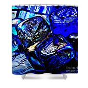Glass Abstract 14 Shower Curtain