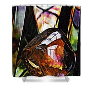 Glass Abstract 315 Shower Curtain