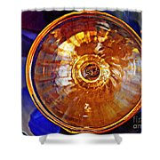 Glass Abstract 577 Shower Curtain