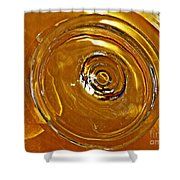 Glass Abstract 578 Shower Curtain