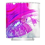 Glass Abstract 602 Shower Curtain