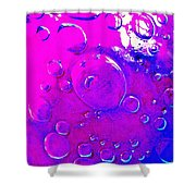 Glass Abstract 605 Shower Curtain