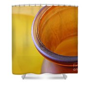 Glass Abstract 718 Shower Curtain
