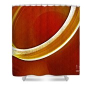 Glass Abstract 776 Shower Curtain