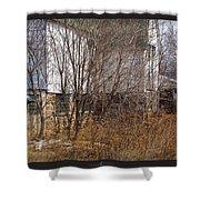 Glass Block Shower Curtain