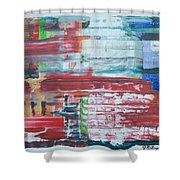 Glass Blocks Shower Curtain
