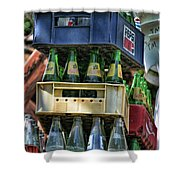 Glass Bottles Soft Drinks  Shower Curtain