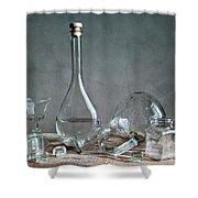 Glass Shower Curtain