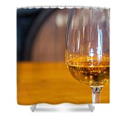 Glass Of Wine Shower Curtain