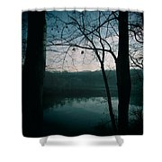 Glass River Shower Curtain