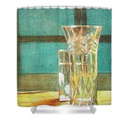 Glass Vase - Still Life Shower Curtain