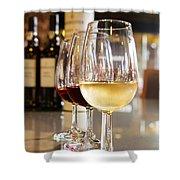 Glasses Of  Port Wine Shower Curtain