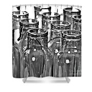 Glassware Shower Curtain