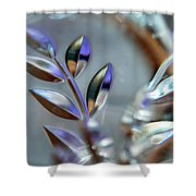 Glassy#2 Shower Curtain