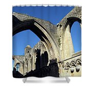 Glastonbur Abbey 2 Shower Curtain