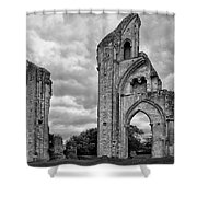 Glastonbury Abbey Shower Curtain