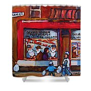 Glatts Kosher Meatmarket And Tailor Shop Shower Curtain