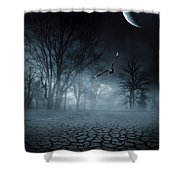 Glaucus Shower Curtain by Lourry Legarde