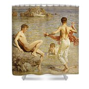 Gleaming Waters Shower Curtain