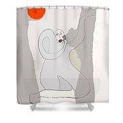 Gleeful Shower Curtain