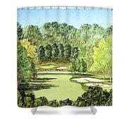 Glen Abbey Golf Course Canada 11th Hole Shower Curtain