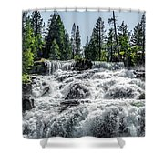 Glen Alpine Falls 7 Shower Curtain
