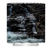 Glen Alpine Falls 8 Shower Curtain