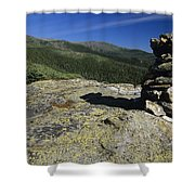 Glen Boulder Trail - White Mountains New Hampshire Usa Shower Curtain