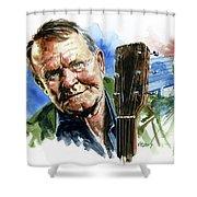 Glen Campbell Shower Curtain