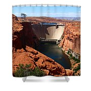 Glen Canyon Dam - Arizona Shower Curtain