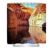 Glen Canyon Reflections Shower Curtain
