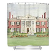 Glen Cove Mansion Shower Curtain