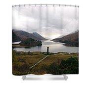 Glen Finnian Shower Curtain