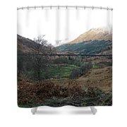 Glen Finnian Viaduct Shower Curtain