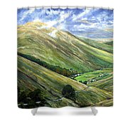Glen Gesh Ireland Shower Curtain