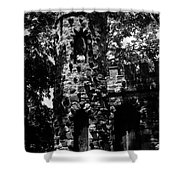 Glen Island Castle  Shower Curtain