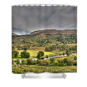 Glen Lyon Scotland Shower Curtain