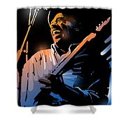 Glen Terry Shower Curtain