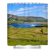 Glencolmcille County Donegal Shower Curtain