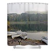Glencorse Reflection. Shower Curtain
