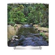 Glendasan River. Shower Curtain