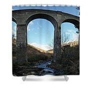 Glenfinnan Viaduct Shower Curtain