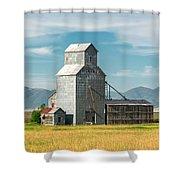 Glengarry Grain Elevator Shower Curtain