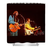 Glenn Frey Joe Walsh-0980 Shower Curtain