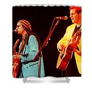 Glenn Frey Joe Walsh-1029 Shower Curtain