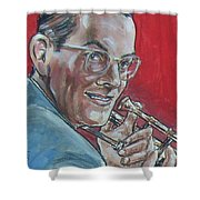 Glenn Miller Shower Curtain