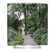 Glenveagh Castle Gardens 4305 Shower Curtain
