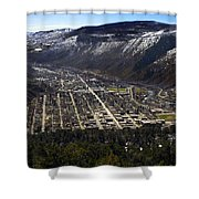 Glenwood Springs Canyon Shower Curtain