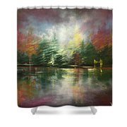 Glimpse Of A Moment Shower Curtain