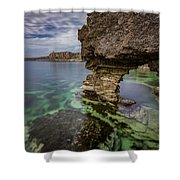 Glimpses Of Sicily Shower Curtain